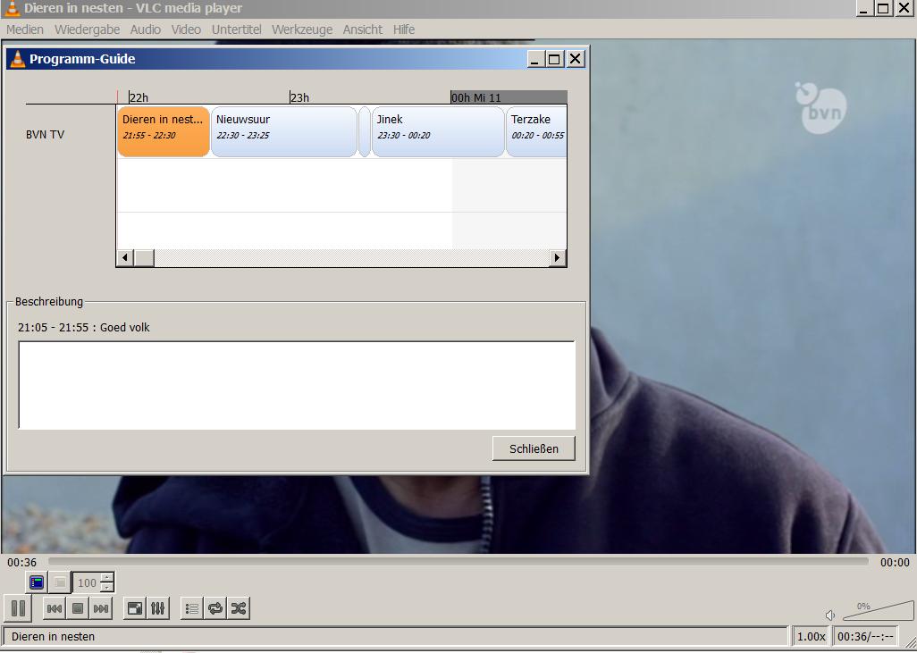 VLC player EPG    - DVBViewer Recording Service 1 x - DVBViewer
