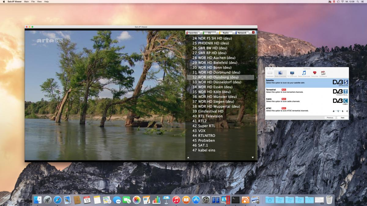 Mac Version - Sat>IP Viewer & Co (Android,iOS,Mac