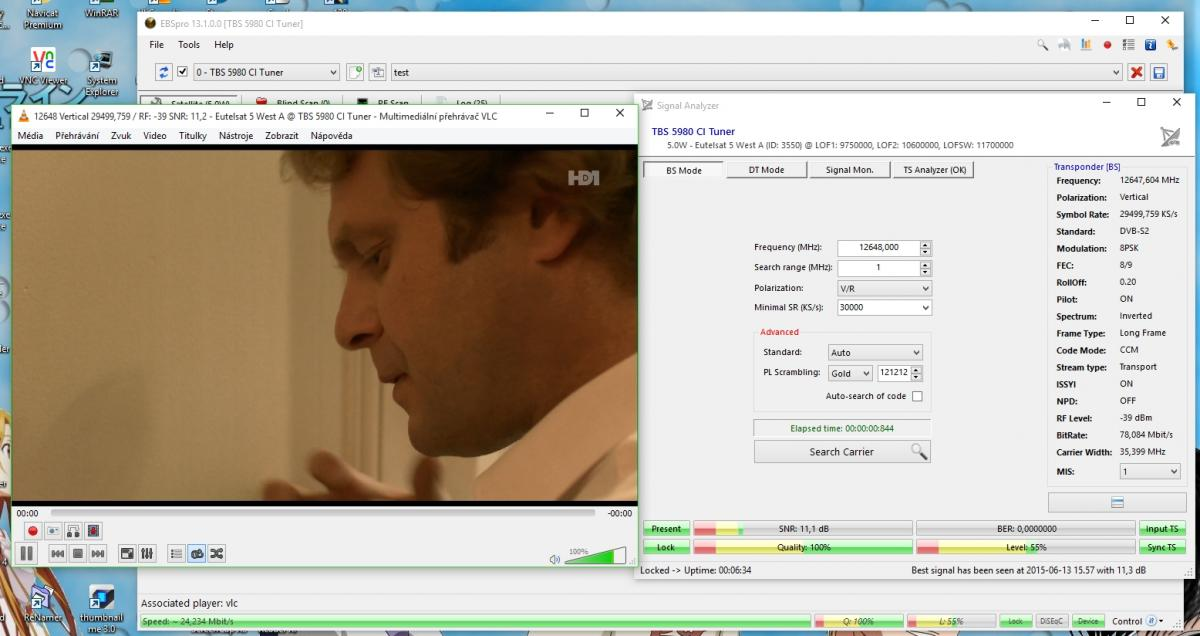 support for MIS (multistream tp) - Suggestions & Ideas - DVBViewer